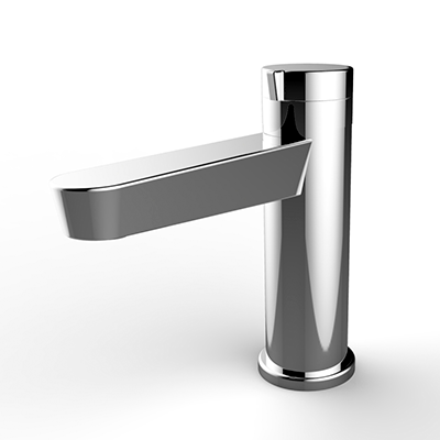 Single-lever basin faucet
